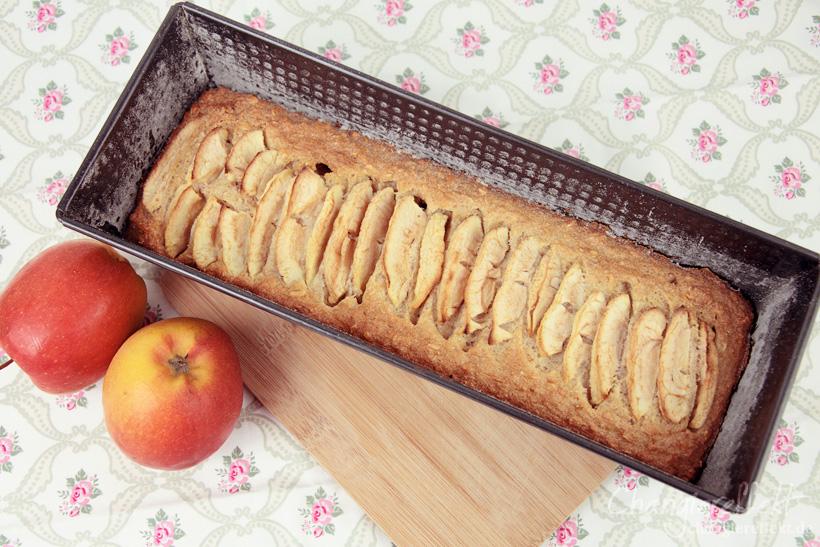 Apfel Haferflocken Kuchen