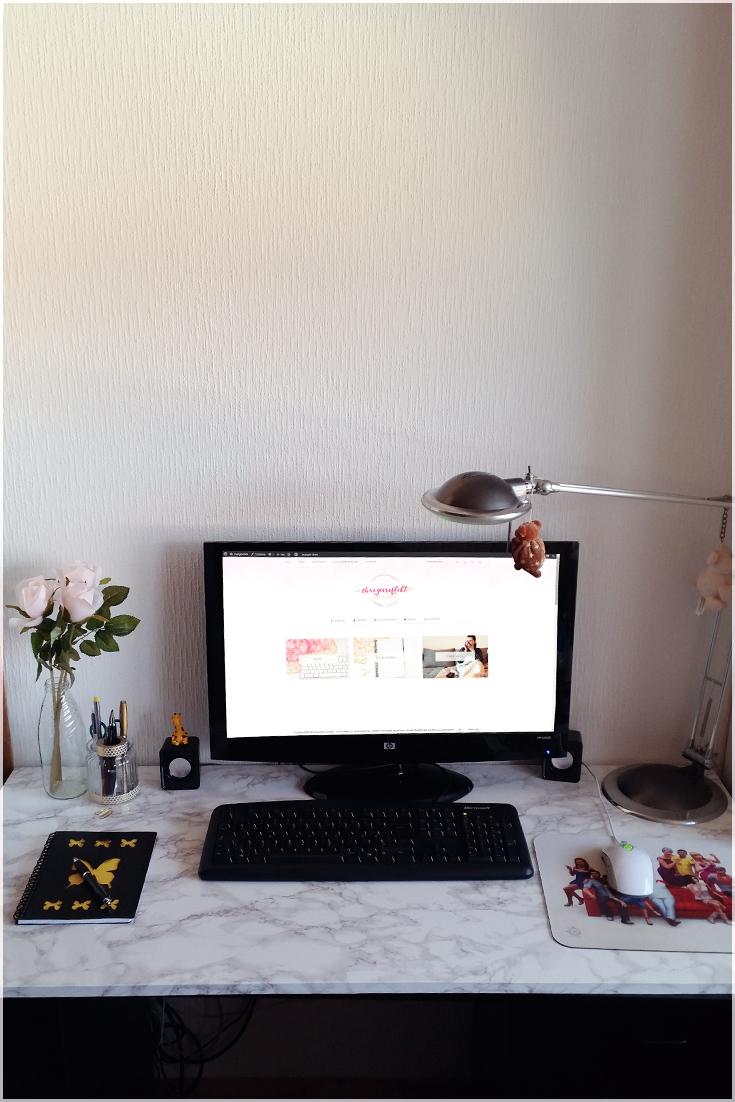 Neuer Arbeitsplatz zum Bloggen